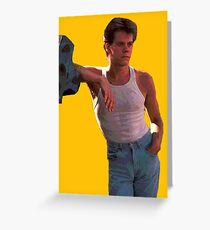 Footloose - Kevin Bacon Greeting Card