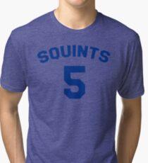 The Sandlot Jersey - Squints 5 Tri-blend T-Shirt