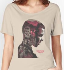 stranger things series Women's Relaxed Fit T-Shirt