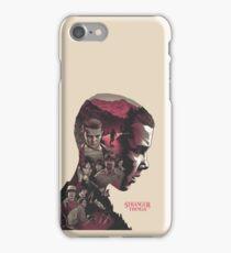 stranger things series iPhone Case/Skin