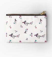 Hope - Thyroid Cancer Awareness Studio Pouch