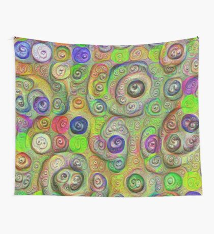 Space snowballs #DeepDreamed Wall Tapestry