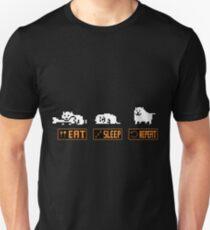 Eat, Sleep, Repeat - Annoying Dog Unisex T-Shirt