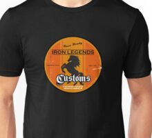 Hot Rod Retro Decal Unisex T-Shirt