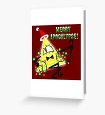 Bill Cipher Christmas Greeting Card