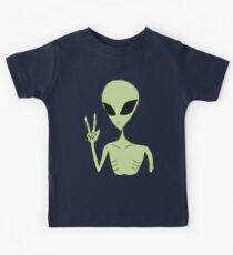 peace alien Kids Tee