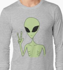peace alien Long Sleeve T-Shirt