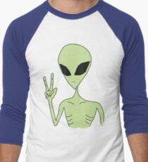 peace alien Men's Baseball ¾ T-Shirt
