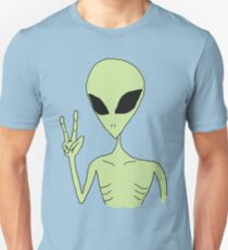 peace alien Unisex T-Shirt