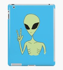peace alien iPad Case/Skin