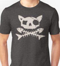 Cat Pirate Jolly Roger Unisex T-Shirt