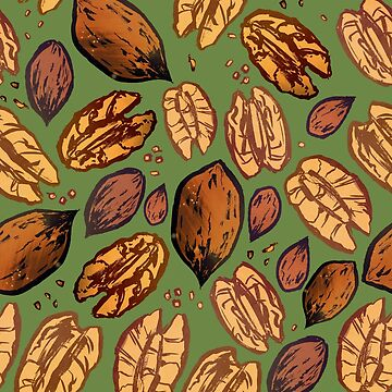 Pecan Nuts by exeivier