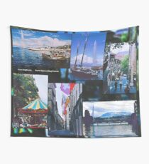 2000 FRAGMENTS ~ Storm Approaching Geneva Wall Tapestry