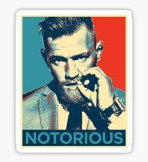 Notorious McGregor Sticker
