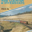 1981 Vintage Train Timetable by Phillip Overton