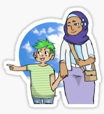 "Rarity & Spike ~ ""Sightseeing""  Sticker"