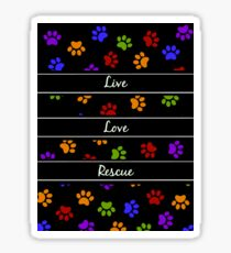 Pawprints Collection Sticker