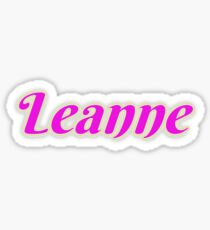 Leanne Sticker