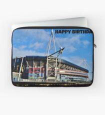 Millennium Stadium, Cardiff - Birthday Card Laptop Sleeve