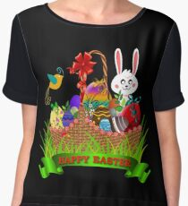 Easter basket Women's Chiffon Top