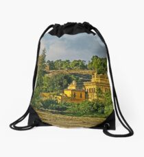Out in the Country - On way to Seville, Spain Drawstring Bag