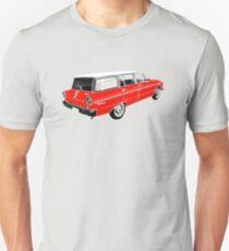 XM Falcon Wagon (Red) Unisex T-Shirt