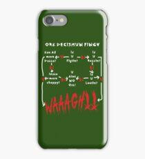 Ork Decishun Fingy iPhone Case/Skin