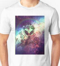 Stay Rad Trippy Alien Unisex T-Shirt