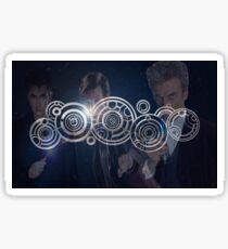 Doctor Who Triple Threat Sticker