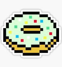 Stickers Sur Le Thème Pixel Doughnut Redbubble
