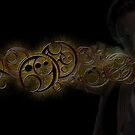 Eleventh Doctor Who Gold Graphic by sandmgaming