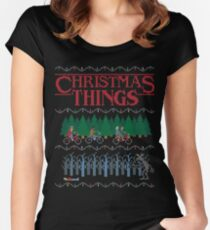 Christmas Things Fitted Scoop T-Shirt