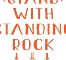 I Stand With Standing Rock, No Dakota Pipeline Sticker