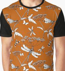 dragonflies (burnt orange) Graphic T-Shirt