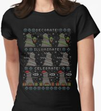 Decorate! Illuminate! Celebrate! Women's Fitted T-Shirt
