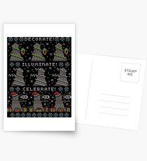 Decorate! Illuminate! Celebrate! Postcards