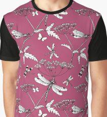 dragonflies - raspberry pink Graphic T-Shirt