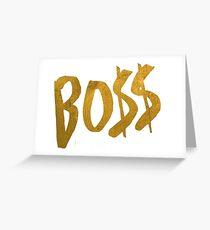 Tarjeta de felicitación Logotipo de Bo $$ - Fifth Harmony