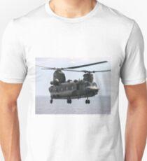RAF Chinook up close Unisex T-Shirt