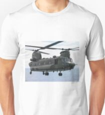 RAF Chinook up close and personal Unisex T-Shirt