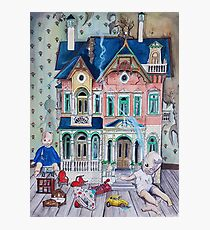Dollhouse Ghosts Photographic Print