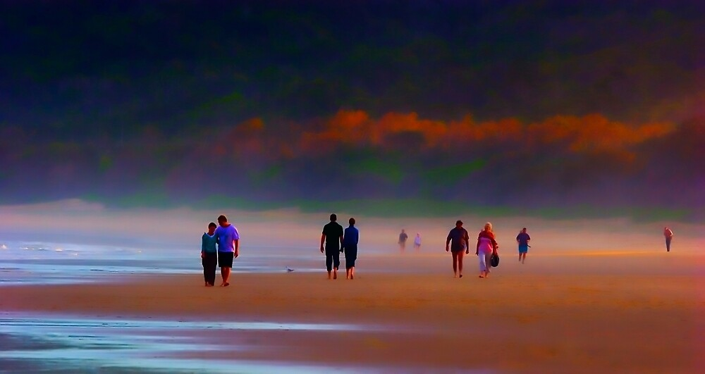 Evening stroll by Marianne