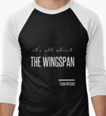 it's all about the wingspan Men's Baseball ¾ T-Shirt