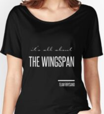 it's all about the wingspan Women's Relaxed Fit T-Shirt