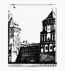 Minsk, Belarus, Europe. historic castle.  iPad Case/Skin