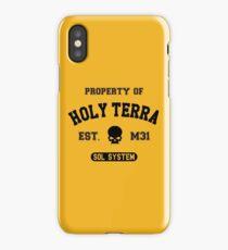 Property of Terra (black) iPhone Case/Skin