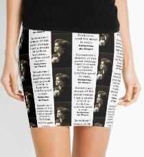Sometimes I Dream Of This - de Cleyre Mini Skirt