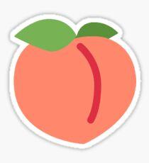 Peach emoji Sticker