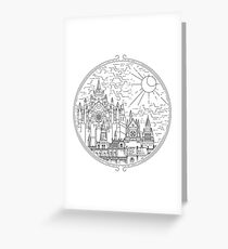 Irithyll Of the Boreal Valley Greeting Card