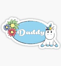 Unicorn Daddy Sticker